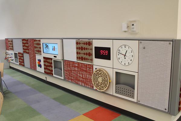 Children's interactive wall