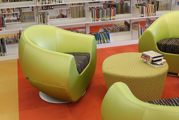 McAllen Main Library New Teen and Children's Furniture