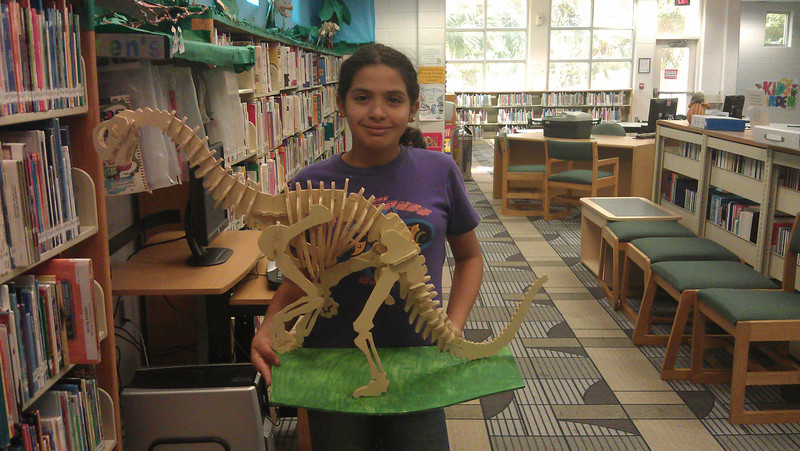 Dinosaur Reading Recess