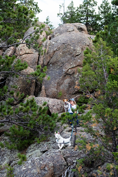 Nadav Soroker<br /> <br /> Hiking Mt. Margaret in the Arapaho and Roosevelt National Forest, on Sunday, August 11, 2019.