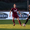 Switchbacks forward Shawn Chin, right, dribbles past a Republics forward Vilyan Bijev at Wiedner Field on Saturday, Oct. 7, 2017. The Switchbacks finished their last home game of the season with a win.<br /> <br /> (The Gazette, Nadav Soroker)