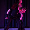 Harmony Munroe and her husband Toby Munroe dance during the Swingin' with the Stars event at Stargazers Theater on Sunday, Oct. 8, 2017.<br /> <br /> (The Gazette, Nadav Soroker)