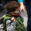 Alex Hambsh, 4, carries a bag loaded with food at Pikes Peak Community College to help his mother in Colorado Springs, Colo. on Monday, Oct. 16, 2017. Over 220 people came to the food pantry which, including their families, served 759 total people.<br /> <br /> (The Gazette, Nadav Soroker)