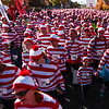 Runners take off from the starting line at the Waldo Waldo 5k on Saturday, Oct. 21, 2017.<br /> <br /> (The Gazette, Nadav Soroker)