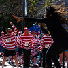 Aja Black of The Reminders sings while runners in the Waldo Waldo 5k dance at the race after-party on Saturday, Oct. 21, 2017. The Reminders performed in the small beer garden set up across from the Colorado Springs Pioneers Museum.<br /> <br /> <br /> (The Gazette, Nadav Soroker)