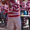 Dan Unite dances to the music at the Waldo Waldo 5k after-party on Saturday, Oct. 21, 2017. <br /> <br /> <br /> (The Gazette, Nadav Soroker)