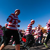 Runners take off from the starting line at the Waldo Waldo 5k on Saturday, Oct. 21, 2017. About 3,000 people ran the course, leaving in waves from the start based on how fast they planned on running, jogging, walking or strolling.<br /> <br /> (The Gazette, Nadav Soroker)