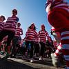 Runners take off from the starting line at the Waldo Waldo 5k on Saturday, Oct. 21, 2017.<br /> <br /> <br /> (The Gazette, Nadav Soroker)