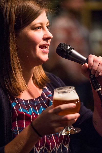 Candace Datz<br /> <br /> Worshippers gathered to drink beer and sing hymns in the Wild Goose Meeting House in Colorado Springs, Colo. on Sunday, Oct. 22, 2017.<br /> <br /> <br /> (The Gazette, Nadav Soroker)