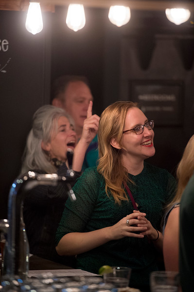 Asst. Pastor Jennifer Rutter<br /> <br /> Worshippers gathered to drink beer and sing hymns in the Wild Goose Meeting House in Colorado Springs, Colo. on Sunday, Oct. 22, 2017.<br /> <br /> <br /> (The Gazette, Nadav Soroker)