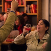 Emily Powell<br /> <br /> Worshippers gathered to drink beer and sing hymns in the Wild Goose Meeting House in Colorado Springs, Colo. on Sunday, Oct. 22, 2017.<br /> <br /> <br /> (The Gazette, Nadav Soroker)