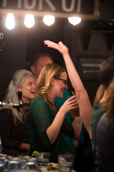 Jennifer Rutter<br /> <br /> Worshippers gathered to drink beer and sing hymns in the Wild Goose Meeting House in Colorado Springs, Colo. on Sunday, Oct. 22, 2017.<br /> <br /> <br /> (The Gazette, Nadav Soroker)