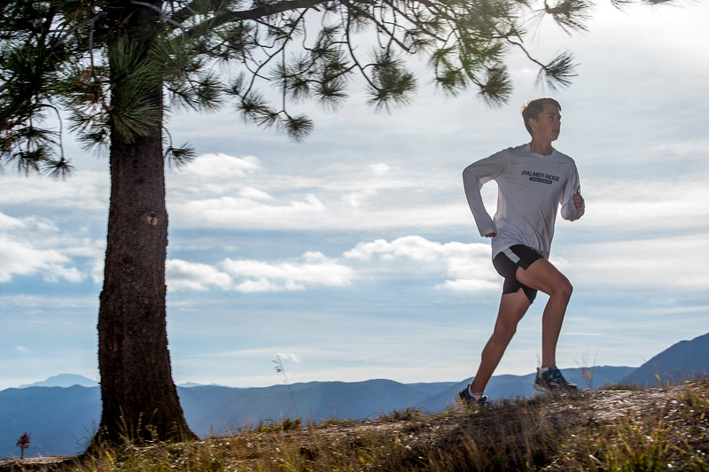 Ryan Matson, a senior cross country runner at Palmer Ridge High School, is the Peak Performer of the week. Photographed on Monday, Oct. 23, 2017.<br /> <br /> <br /> (The Gazette, Nadav Soroker)