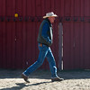 Glenn Ryan walks over to a shed where he stores a tractor and hay for his horse and mules at AG Ranch in Bailey, Colo. on Tuesday, Oct. 24, 2017.<br /> <br /> <br /> (The Gazette, Nadav Soroker)