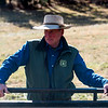 Glenn Ryan talks to members of Colorado Parks and Wildlife who sold him hay for his mules at AG Ranch in Bailey, Colo. Photographed on Tuesday, Oct. 24, 2017.<br /> <br /> <br /> (The Gazette, Nadav Soroker)