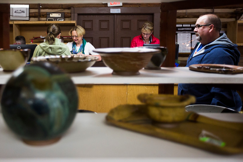Artists and craftspeople from the Black Forest Arts and Crafts Guild displayed their work in a large fall boutique for the 53rd year running, at the Black Forest Community Hub, Sunday, November 5, 2017.