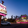 A vehicle pulls into Amy's Donuts for an evening snack on Sunday, November 5, 2017.