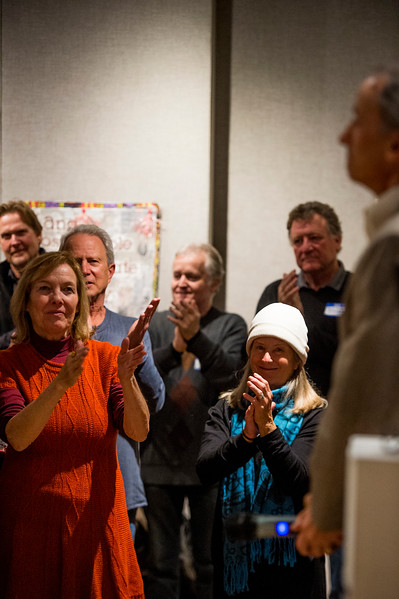 Ken Jaray wins the election for Manitou Springs mayor on Tuesday, November 7, 2017.