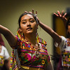 """Rhea Shrestha, 13, stretches out a hand with unlit LED lights during rehearsal dances for the """"Pyaar... Expressions of Love"""" performance, at the Fellowship Bible Church on Sunday, November 12, 2017. The performance is part of the local Indian communities annual Diwali celebrations and also a fundraiser, this year for the Court Appointed Special Advocates.<br /> <br /> (The Gazette, Nadav Soroker)"""