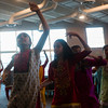 """Naisha Nail, 12, smoothly raises her arm during a rehearsal dance at the Fellowship Bible Church on Sunday, November 12, 2017. The rehearsal is for """"Pyaar... Expressions of Love,"""" by the local Indian communities annual Diwali celebrations and also a fundraiser, this year for the Court Appointed Special Advocates.<br /> <br /> (The Gazette, Nadav Soroker)"""