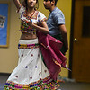 """Shreya Krishnan, 13, and Tejas Satishkumar, 14, rehearse the dance they are a part of in """"Pyaar... Expressions of Love,"""" a performance by the local Indian community, at Fellowship Bible Church on Sunday, November 12, 2017. The performance is part of the local Indian communities annual Diwali celebrations and also a fundraiser, this year for the Court Appointed Special Advocates.<br /> <br /> (The Gazette, Nadav Soroker)"""