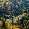 A river runs through an aspen dotted valley in Pike National Forest on Tuesday, Sept. 26, 2017. <br /> <br /> (The Gazette, Nadav Soroker)