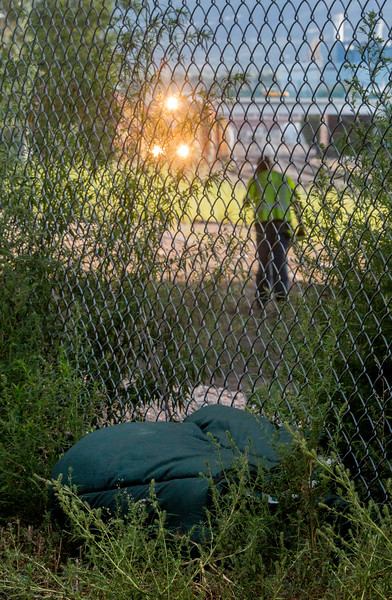 Deaths by train have spiked recently in Colorado Springs, with four deaths in one month compared to three in the previous decade. Trains photographed at the locations where the deaths occurred on Tuesday, Sept. 20, 2017.<br /> <br /> (The Gazette, Nadav Soroker)