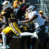 Cowboys wide receiver Raghib Ismail Jr. catches a long touchdown pass as the Wyoming Cowboys prepare to take on the Nevada Wolf Pack Saturday, Oct. 26, 2019 at War Memorial Stadium. Nadav Soroker/Wyoming Tribune Eagle