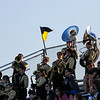 The South High School marching band watch the Bison lose to the Kelly Walsh Trojans 8-47 Friday, September 13, 2019 at South High School. Nadav Soroker/Wyoming Tribune Eagle