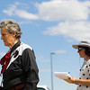 Temple Grandin, CSU professor and pioneer in animal handling, tours the Ag Center facilities while consulting on a renovation and expansion Monday, September 16, 2019 at Laramie County Community College.