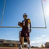 Janson Adair a wide reciever, safety and special teams player for the Plainsmen, 2019 at Laramie High School. Nadav Soroker/Laramie Boomerang