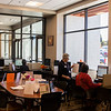 Clients use the resources at the new workforce center, Monday, October 7, 2019 at the new Wyoming Department of Workforce Services building. The department consolidated all its functions into the new building, and all services are now in the same area to make access easier. Nadav Soroker/Wyoming Tribune Eagle