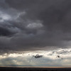 Jelm Mountain, left, is silhouetted among the clouds rolling in over the Laramie Valley Wednesday, October 9, 2019 seen from the Medicine Bow National Forest. Nadav Soroker/Laramie Boomerang