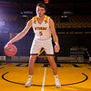 Haize Fornstrom (5) poses for a portrait at the University of Wyoming Basketball Media Day Wednesday, October 9, 2019 in the Arena-Auditorium. Nadav Soroker/Wyoming Tribune Eagle