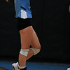 East junior Hailey Marshall (16) points a finger in celebration Thursday, October 10, 2019 at the East High School Thunderdome. Cheyenne East High School Thunderbirds volleyball defeated the the Cheyenne Central High School Indians in straight sets. Nadav Soroker/Wyoming Tribune Eagle