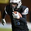 Cheyenne East wide receiver Jackson Hesford (2) runs the ball up the sideline Friday, October 11, 2019 at Cheyenne East High School. The Cheyenne East High School Thunderbirds defeated the Cheyenne Central High School Indians 24-21. Nadav Soroker/Wyoming Tribune Eagle