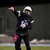 Cheyenne East quarterback Graedyn Buell (13) throws a pass Friday, October 11, 2019 at Cheyenne East High School. The Cheyenne East High School Thunderbirds defeated the Cheyenne Central High School Indians 24-21. Nadav Soroker/Wyoming Tribune Eagle