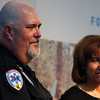 Paramedic Jeffrey Munoz accepts the AMR Emergency Medical Technician of the Year award at the Salute to First Responders Banquet and Awards ceremony Saturday, October 12, 2019 at Laramie County Community College. Nadav Soroker/Wyoming Tribune Eagle