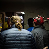 Actors prepare behind the scenes of the Nightmare on 17th Street haunted house, Friday, Oct. 18, 2019 at the Knights of Pythias building. The haunted house is in its 31st year of scaring for charity. Nadav Soroker/Wyoming Tribune Eagle