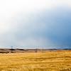 Windmills turn in the sunset Monday, Oct. 21, 2019 along Happy Jack Road. Nadav Soroker/Wyoming Tribune Eagle
