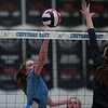 Cheyenne East volleyball defeats Cheyenne South in straight sets Thursday, Oct. 24, 2019 in the Thunderdome. Nadav Soroker/Wyoming Tribune Eagle