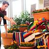The Cheyenne Botanic Gardens prepares for a Die de Los Muertos celebration Tuesday, Oct. 29, 2019 in Cheyenne. Nadav Soroker/Wyoming Tribune Eagle
