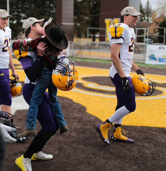 The WHSAA Six Man championship match between Little Snake River and HEM Saturday, Nov. 16, 2019 at War Memorial Stadium. Nadav Soroker/Wyoming Tribune Eagle