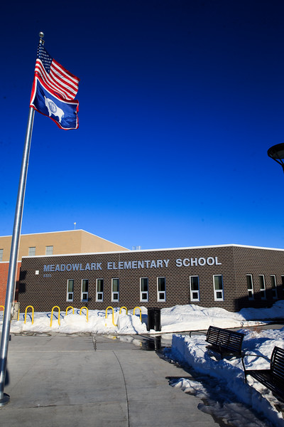 Meadowlark Elementary School, a potential model for a new fifth-sixth grade school in the Central or South Triads, Tuesday, Dec. 3, 2019 in northeast Cheyenne. Nadav Soroker/Wyoming Tribune Eagle