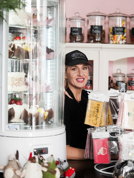 Ruth Williams opened The Sugar Mouse, a cupcakery which will donate the proceeds to help trafficking victims in Cambodia, Wednesday, Dec. 11, 2019 at The Sugar Mouse. Nadav Soroker/Laramie Boomerang