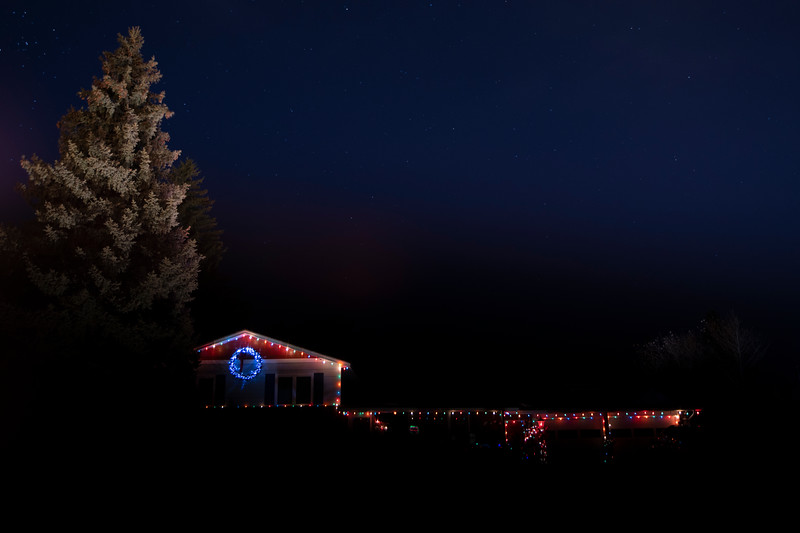 Ron and Marilyn Kisicki's house includes animated displays, and has been part of the Holiday Lights tour for decades Friday, Dec. 20, 2019 in Cheyenne. Nadav Soroker/Wyoming Tribune Eagle