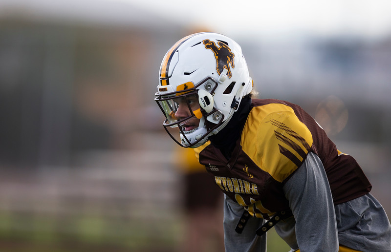 The University of Wyoming football team practices at the FC Tuscon Saturday, Dec. 28, 2019 in Tucson. Nadav Soroker/Wyoming Tribune Eagle