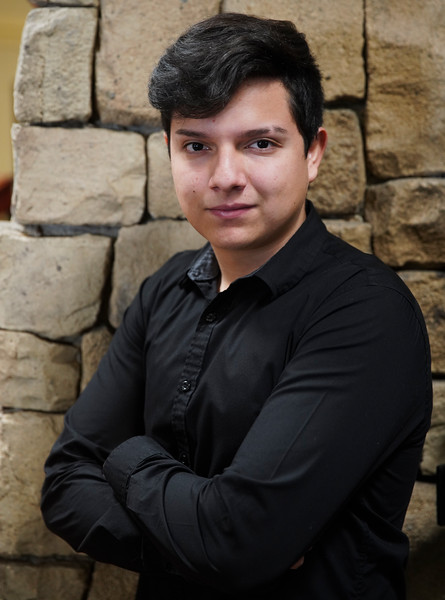 Brian Arzola is the Retired Educational Personnel Citizenship Award Winner from Pine Bluffs High School Monday, Jan. 6, 2020 at the Red Lion Hotel. Arzola is a senior, and commutes to Pine Bluffs High from Albin. Nadav Soroker/Wyoming Tribune Eagle