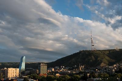 Tbilisi sunset 6 19-9