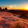 Burning Light at Arches National Park